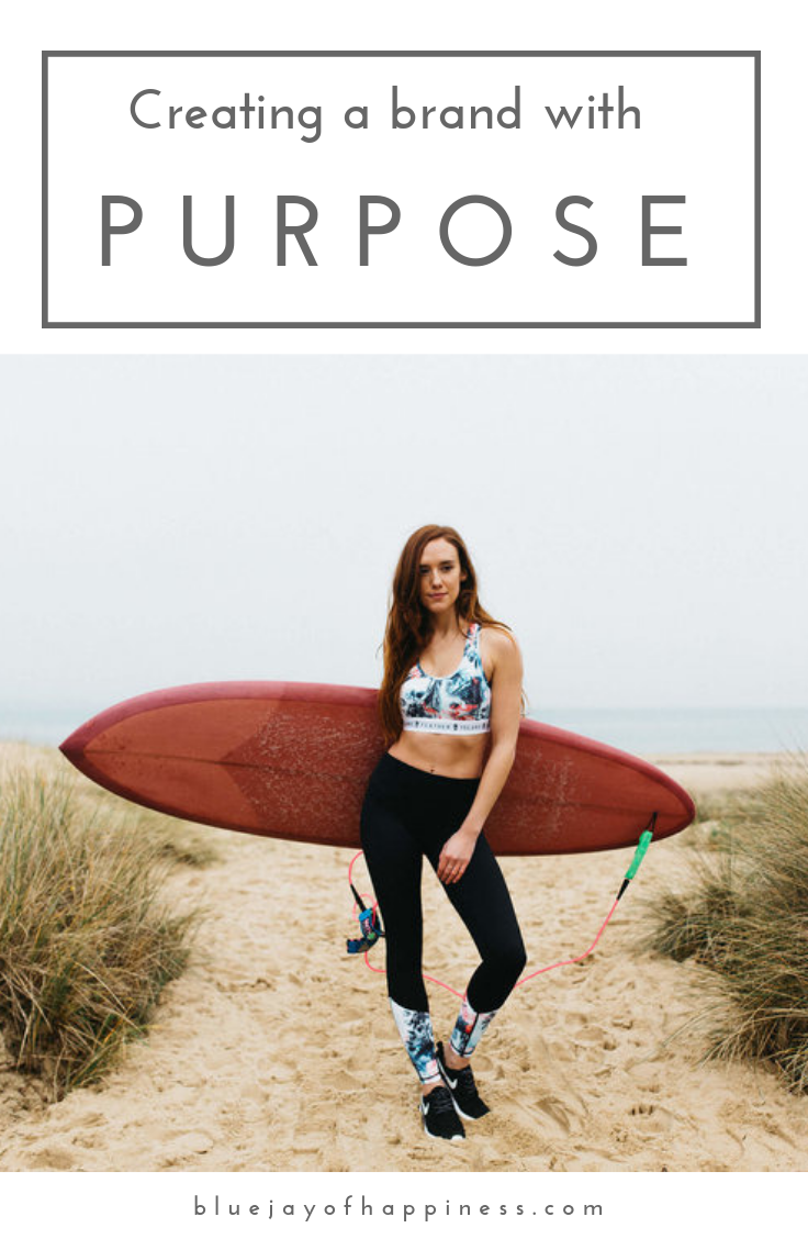 Creating a brand with purpose - and interview with Island Feather founder Claudia Albrecht