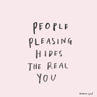 people-pleasing