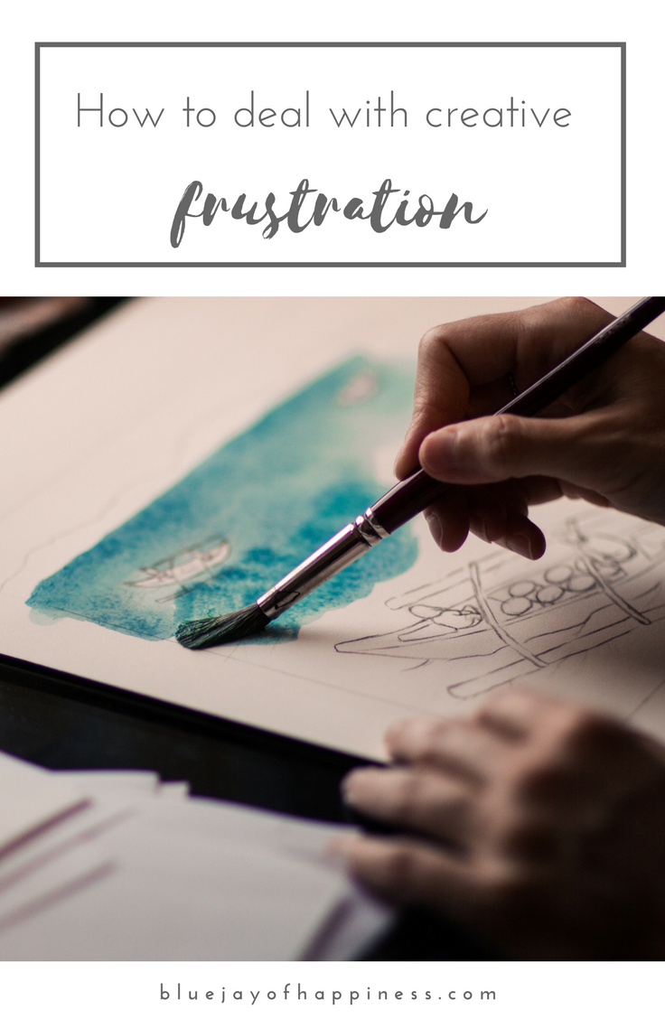 How to deal with creative frustration