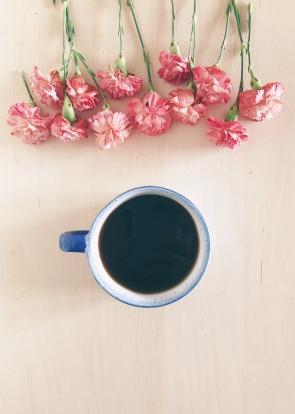 blogging-coffee-flowers