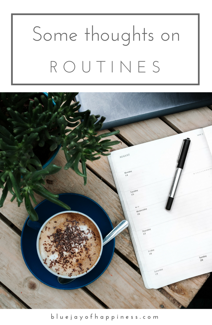 Some thoughts on routines