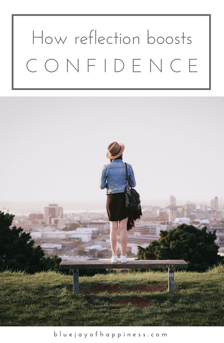 How reflection boosts confidence