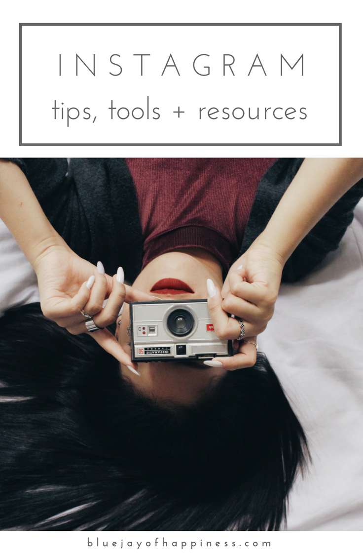 Instagram tips, tools and resources