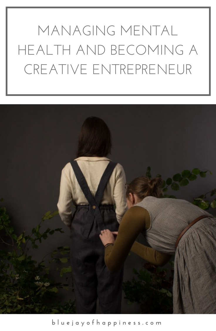 Managing mental health and becoming a creative entrepreneur