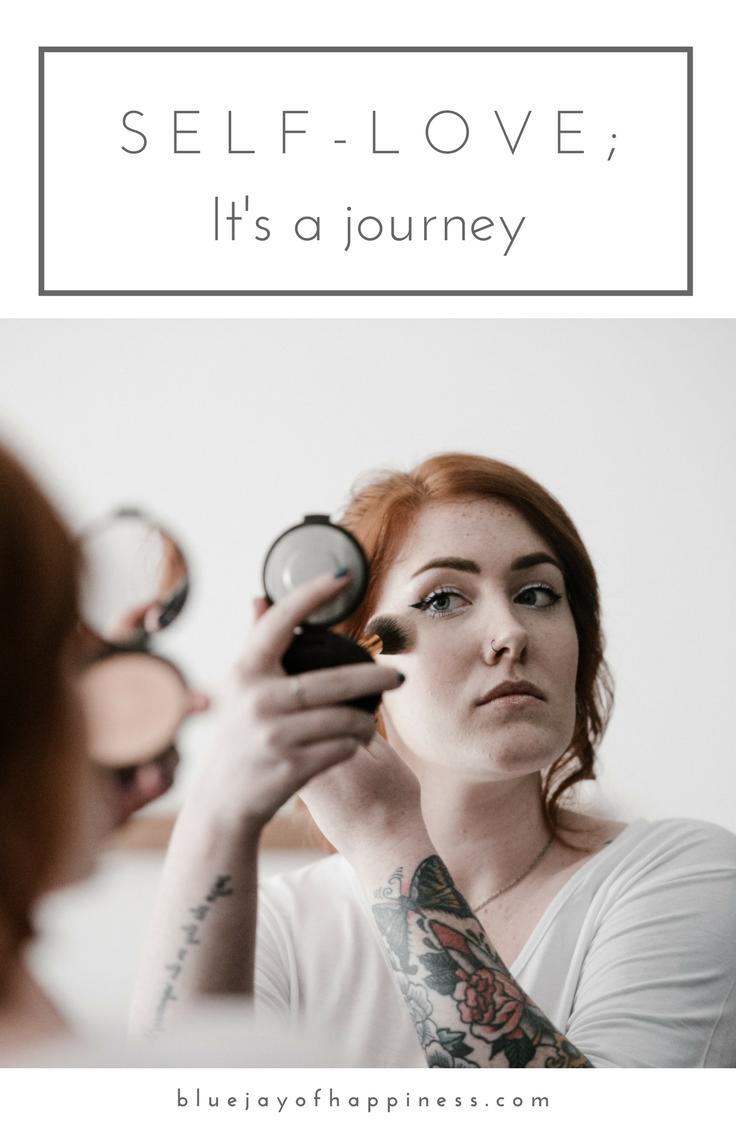 self-love; it's a journey