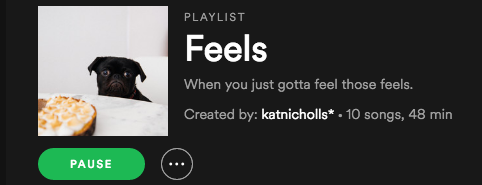 Feels playlist