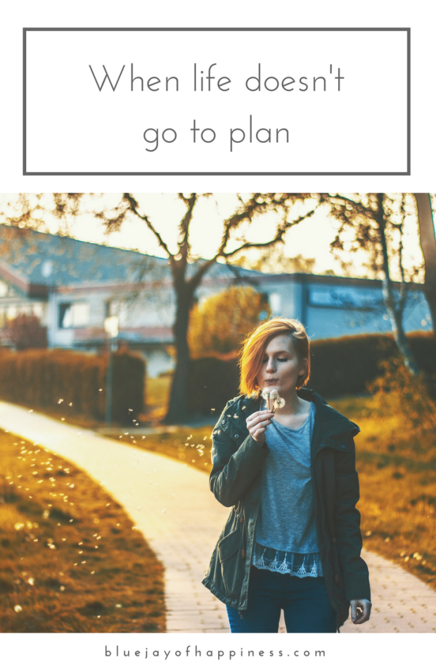 When life does't go to plan - how to deal with set-backs