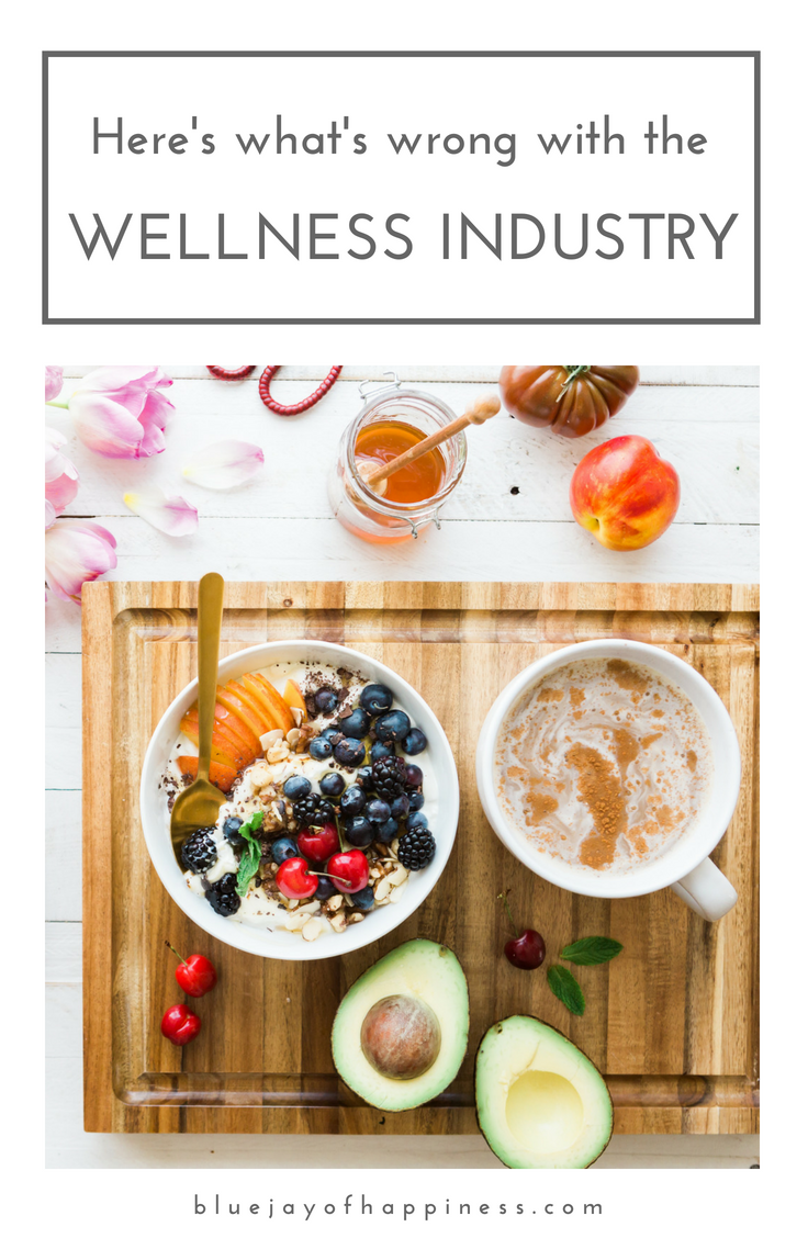 Here's what's wrong with the wellness industry