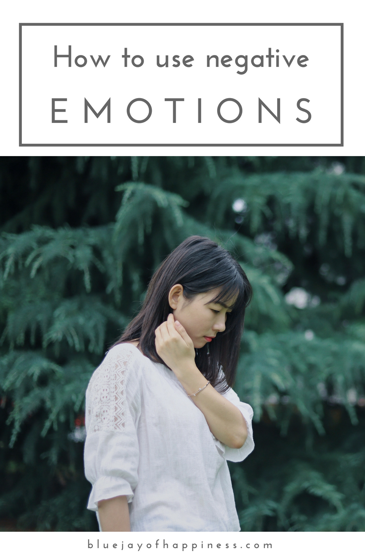 How to use negative emotions