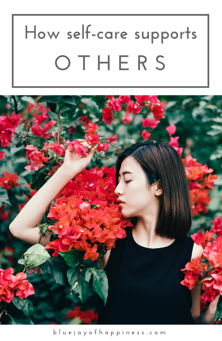 How self-care supports others