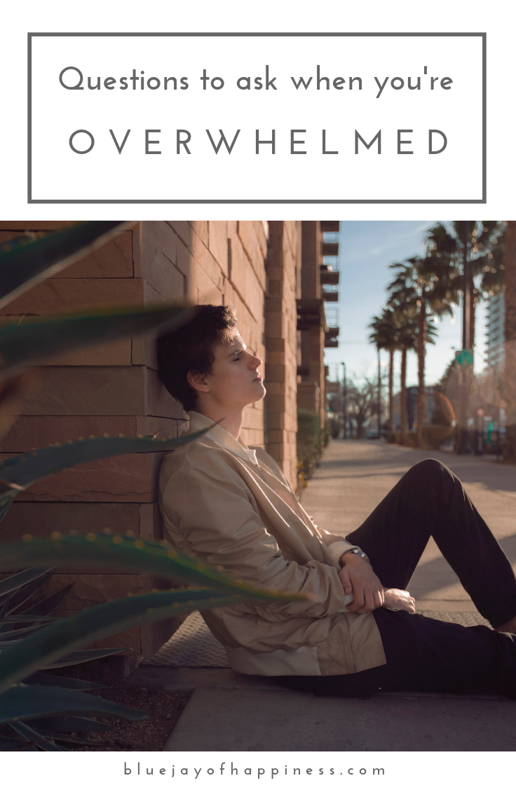Questions to ask when you're overwhelmed