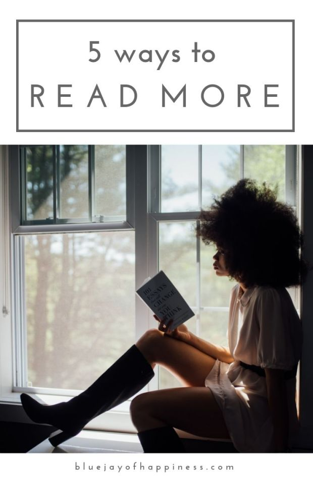 5 ways to read more