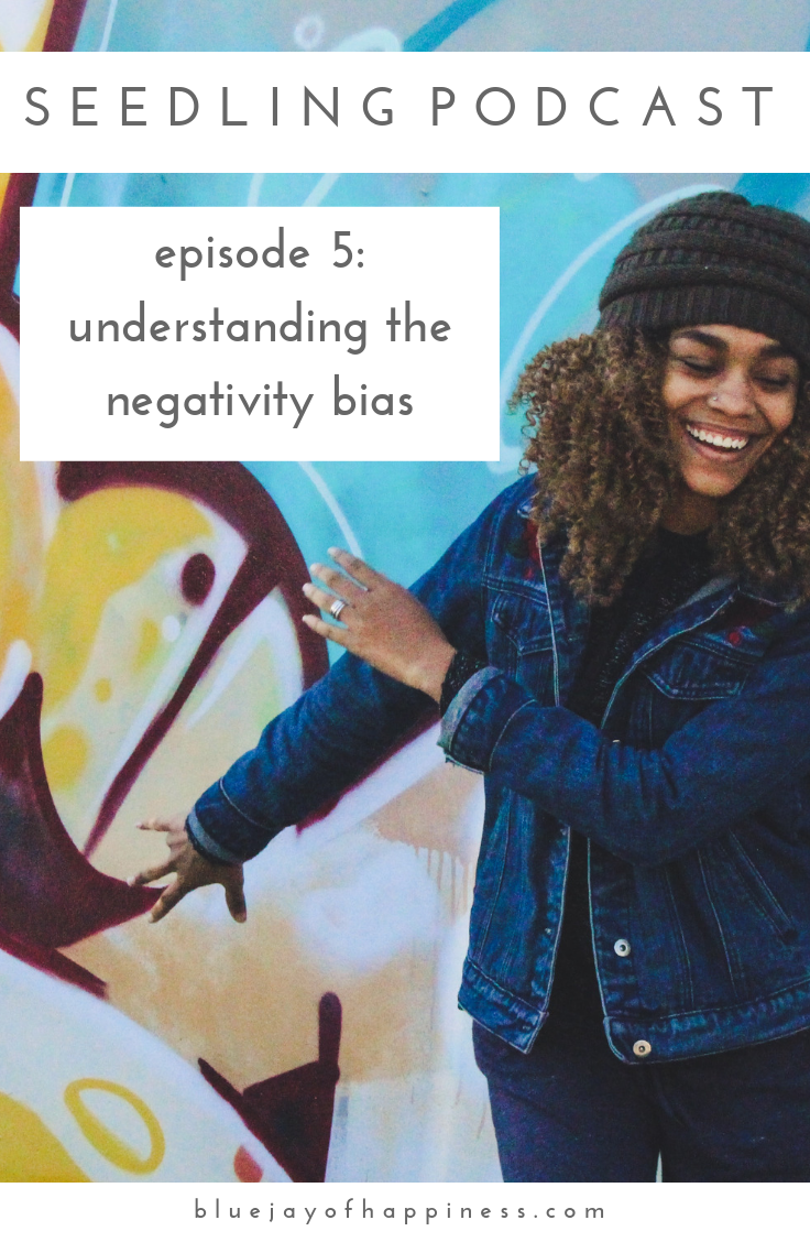 Seedling podcast episode 5 - understanding the negativity bias