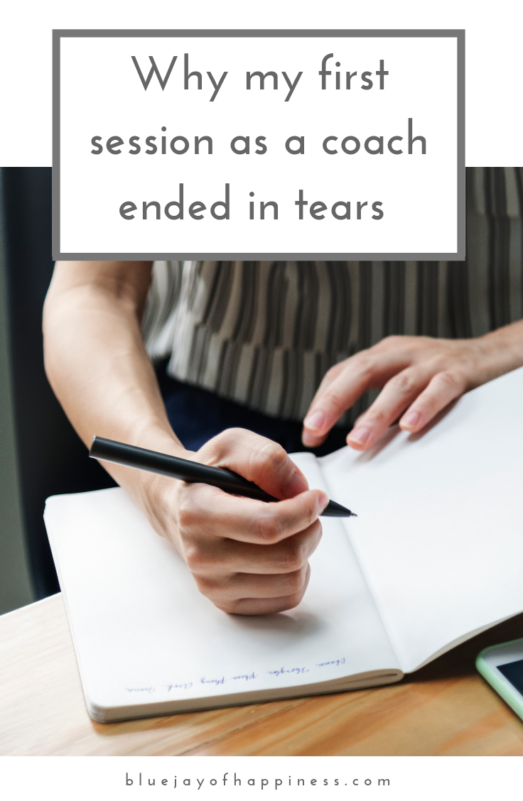 Why my first session as a coach ended in tears (and what I learnt)